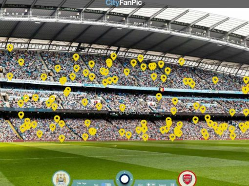 FanPic Sponsorship Activation Case Study: Manchester City v Arsenal