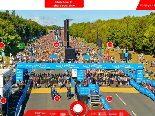 Fanpic Sponsorship Activation Case Study: Great North Run – PUMA